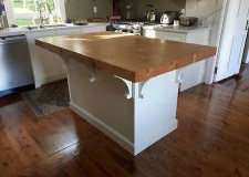 A Kitchen Island.