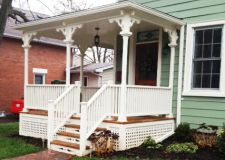 Historic Front Porch  Restoration