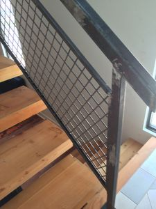 Our renovations and restorations often include custom stairs. This image leads to more information on our stairs.